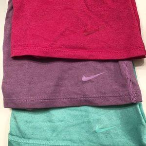 3 Nike Dri-fit work out shirts